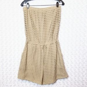 Trouble at the Mill Oatmeal Romper